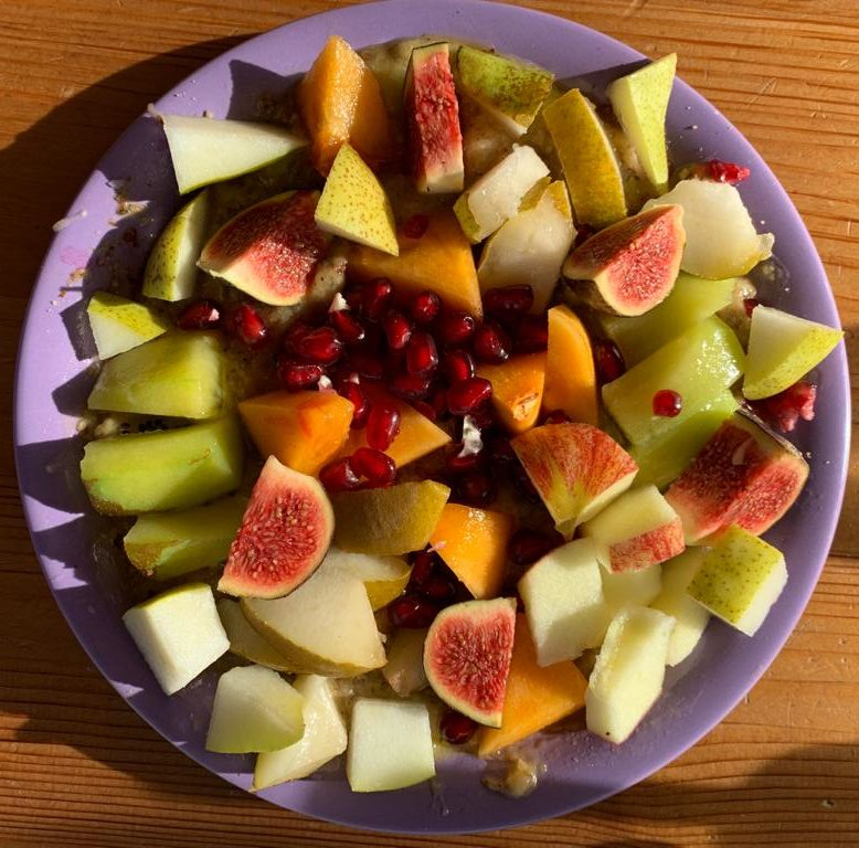 Un miam aux fruits